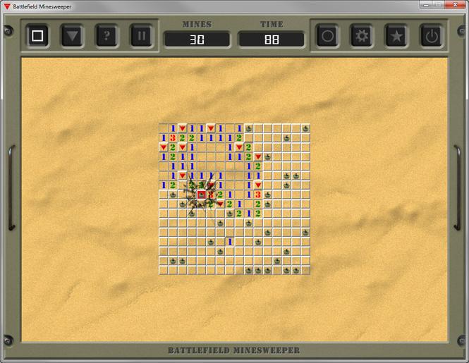 Battlefield Minesweeper Screenshot 1