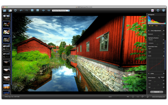 HDR Darkroom Pro Screenshot 1