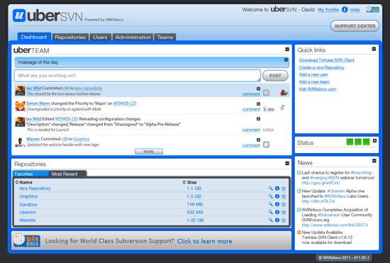 uberSVN Screenshot