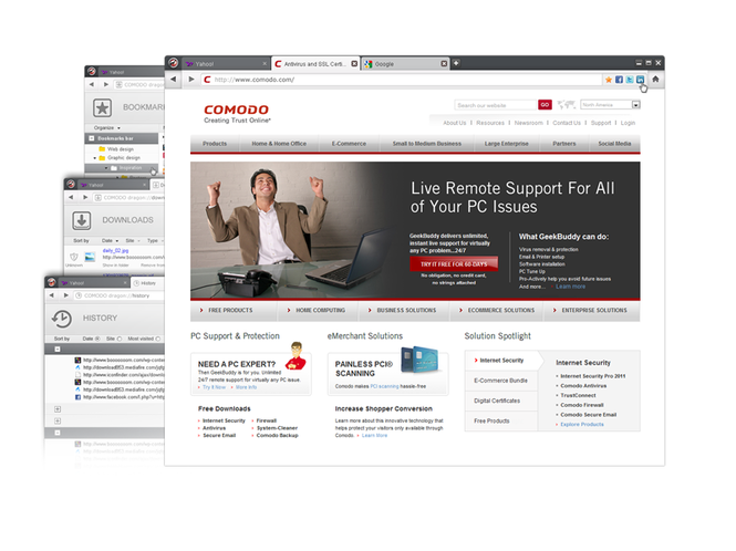 Comodo Dragon Screenshot 1