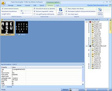 Flex Decompiler Screenshot