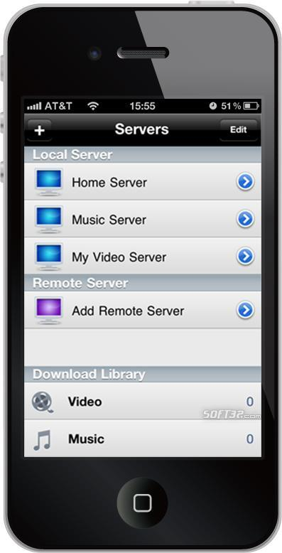 Air Playit iPhone Client Screenshot 2