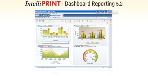 IntelliPRINT Dashboard Reporting Screenshot 2