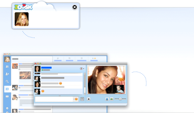 Zoosk Messenger Screenshot
