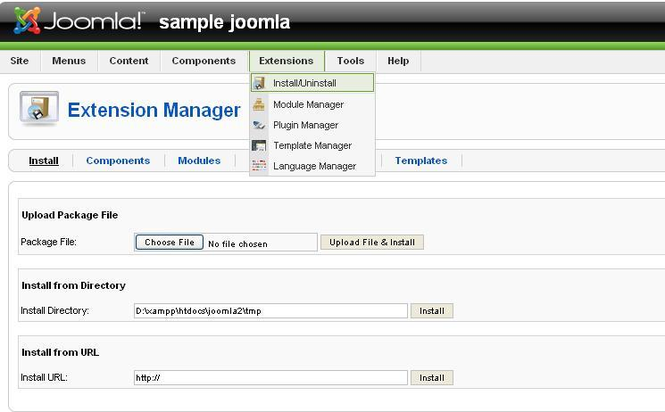 Joomla Flv Player Screenshot