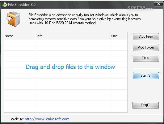 KaKa File Shredder Screenshot 2