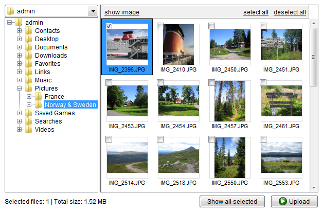 MyImageUploader Screenshot