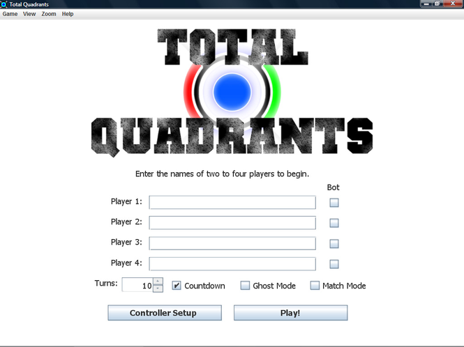 Total Quadrants Screenshot 1