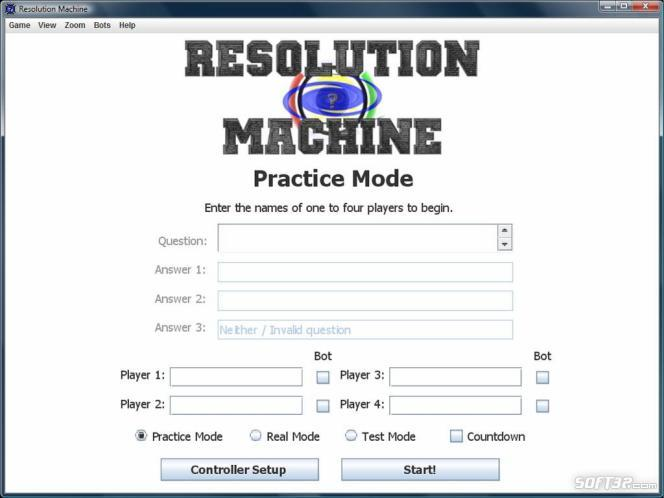 Resolution Machine Screenshot 2