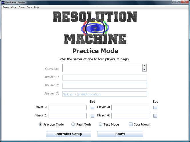Resolution Machine Screenshot