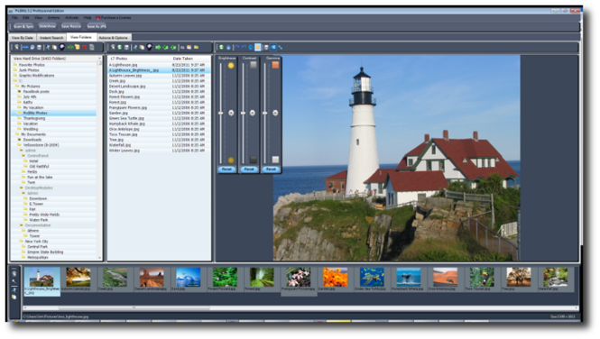 PicBlitz Virtual Photo Manager Screenshot