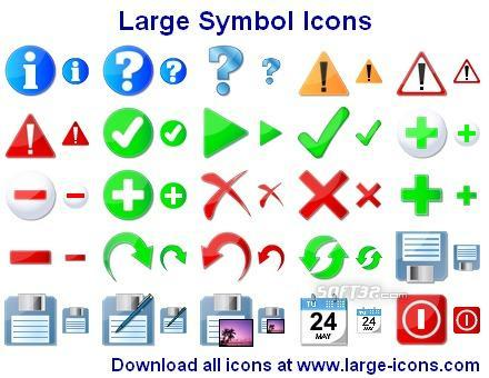 Large Symbol Icons Screenshot 2