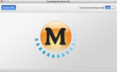Free Megavideo Saver Mac Screenshot 1