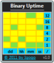 Binary Uptime 1