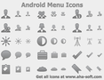Android Menu Icons 1