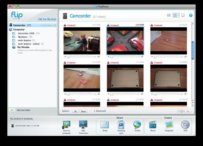 FlipShare Screenshot 1
