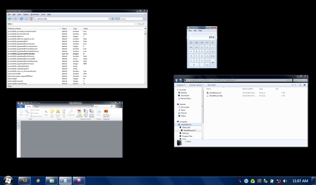 GiMeSpace Desktop Extender 3D Screenshot 3