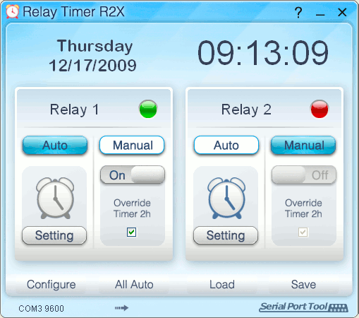 Relay Timer R2X Screenshot