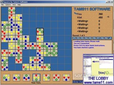 Tams11 Squares Screenshot 2