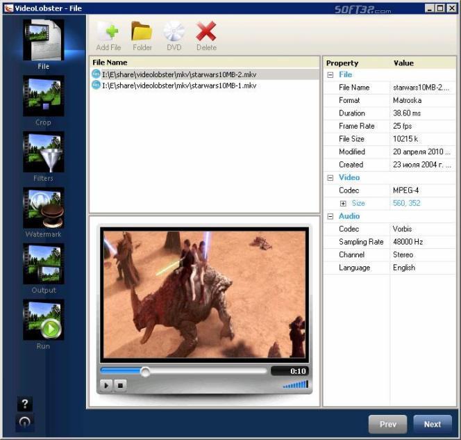 VideoLobster Screenshot 2