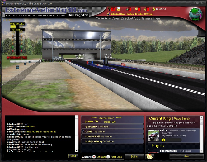 Extreme Velocity 3D - The Drag Strip Screenshot