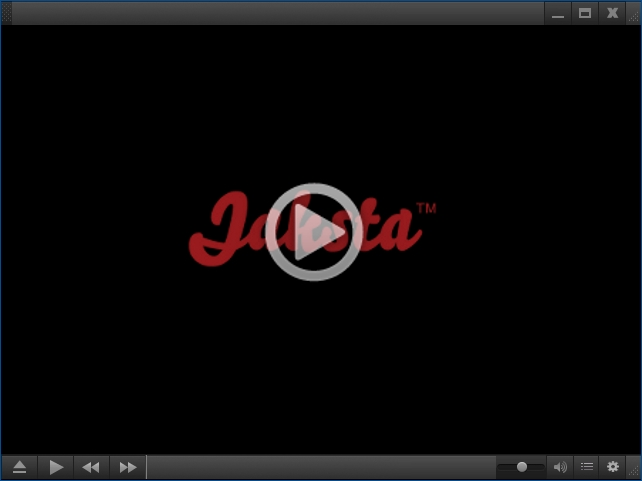 Jaksta Media Player for Windows Screenshot