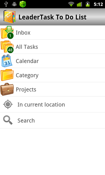LeaderTask To Do List Screenshot
