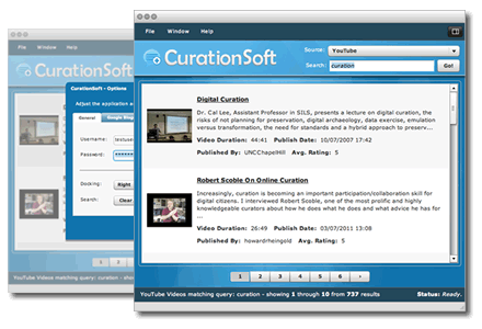 CurationSoft Screenshot