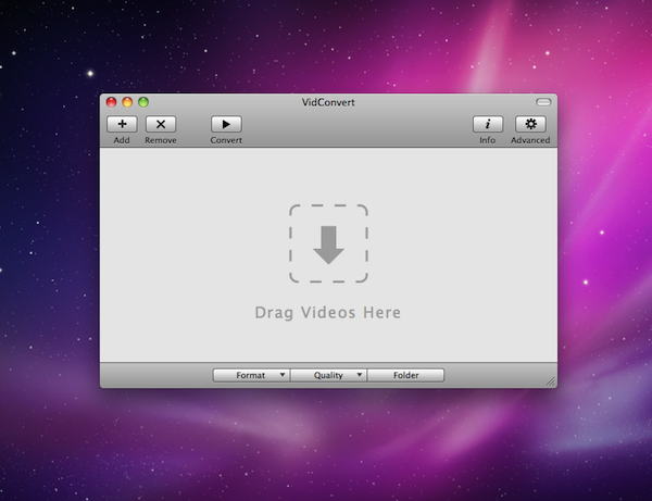 VidConvert Screenshot 2