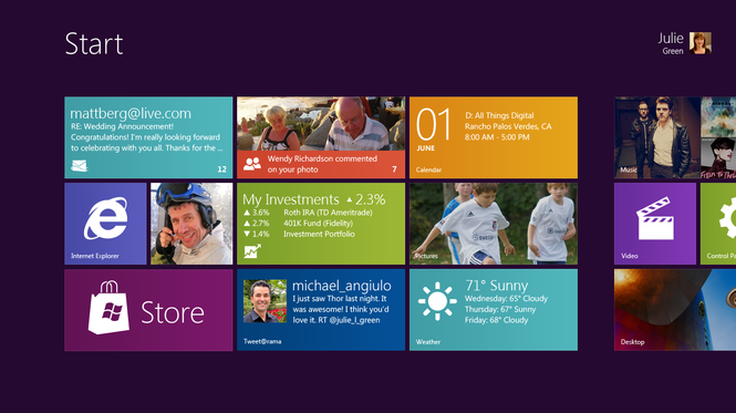 Windows 8 Developer Preview Screenshot 5