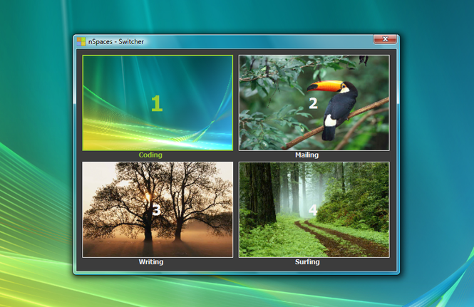 nSpaces Screenshot 1