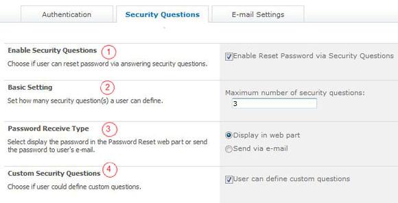 SharePoint Password Reset Screenshot 2