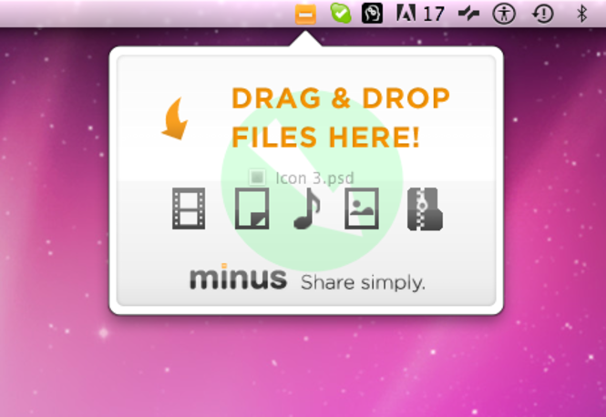 Minus for Mac Screenshot