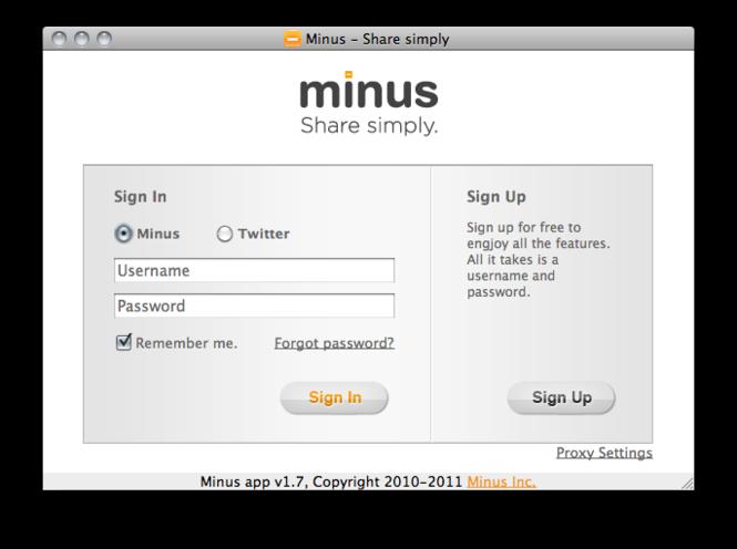 Minus for Mac Screenshot 2