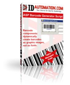ASP Barcode Generator Script Screenshot