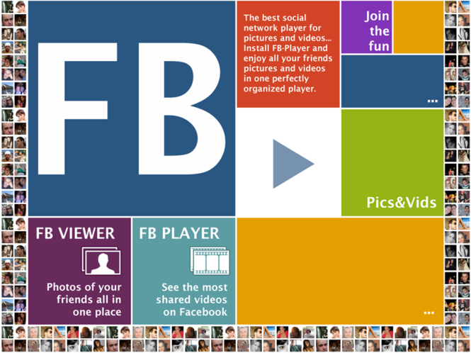 Video Player and Photo Viewer for Facebook Screenshot 1