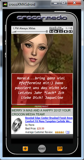 crocoXMASdroid Screenshot 2