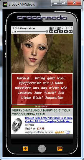 crocoXMASdroid Screenshot 2
