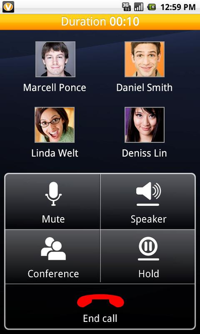 ooVoo for Android Screenshot 4