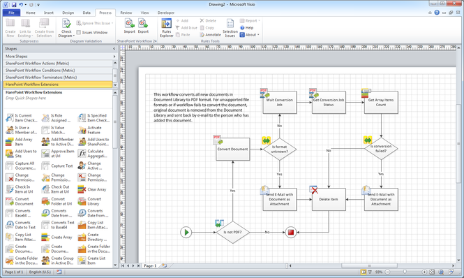 HarePoint Workflow Extensions Screenshot