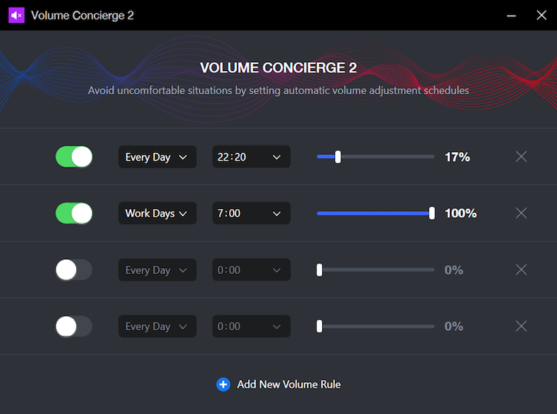 Volume Concierge 2