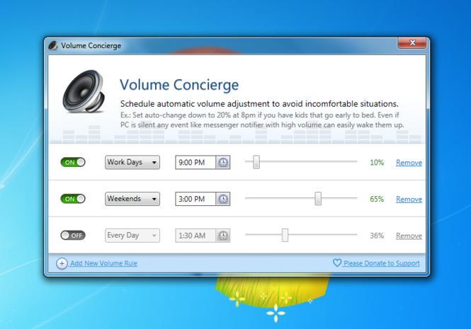 Volume Concierge Screenshot 1