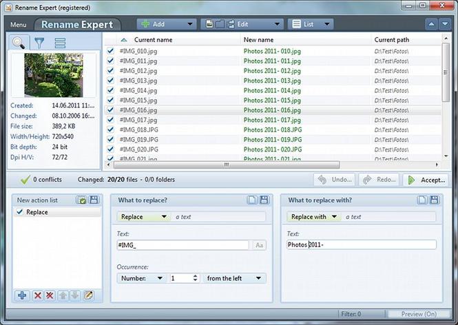 Rename Expert Screenshot