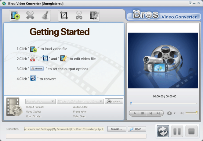 Bros Video Converter Screenshot
