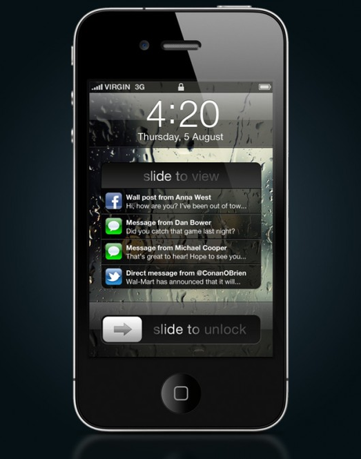 iOS Screenshot