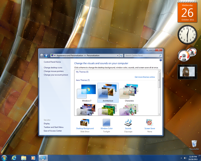 Windows 7 (SP1 included) Screenshot 4