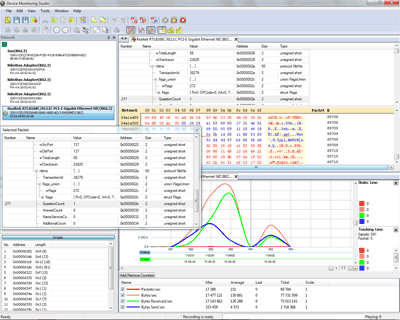 Network Monitor Screenshot 1