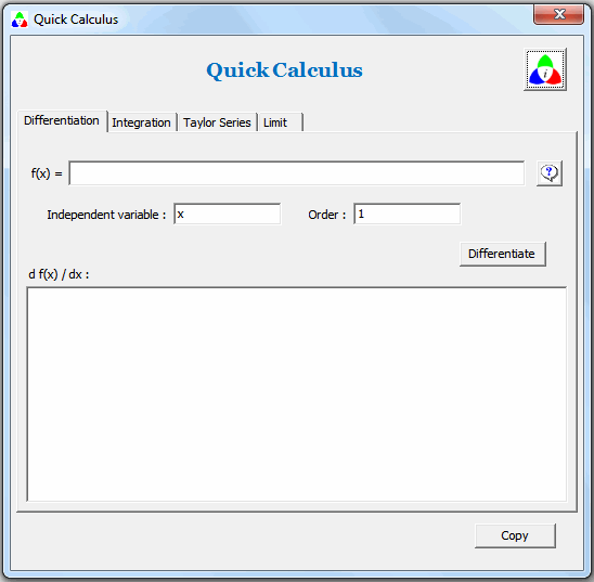 Quick Calculus Screenshot