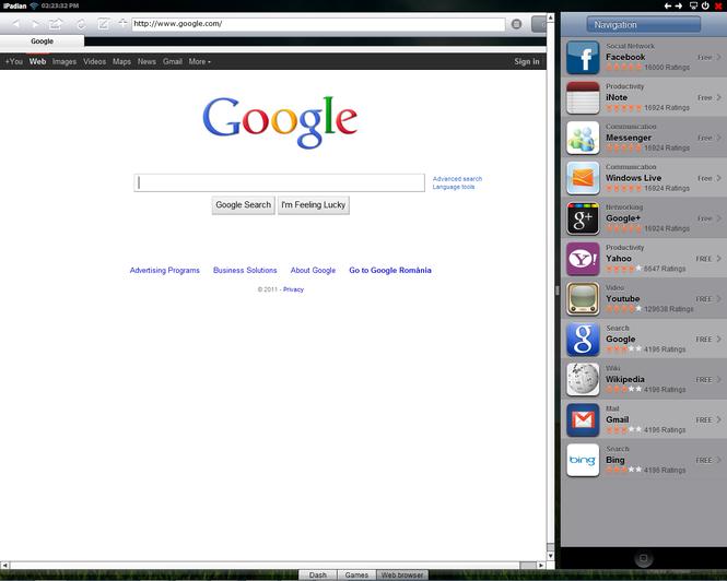 iPadian Screenshot 2