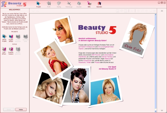 Beauty Studio Screenshot